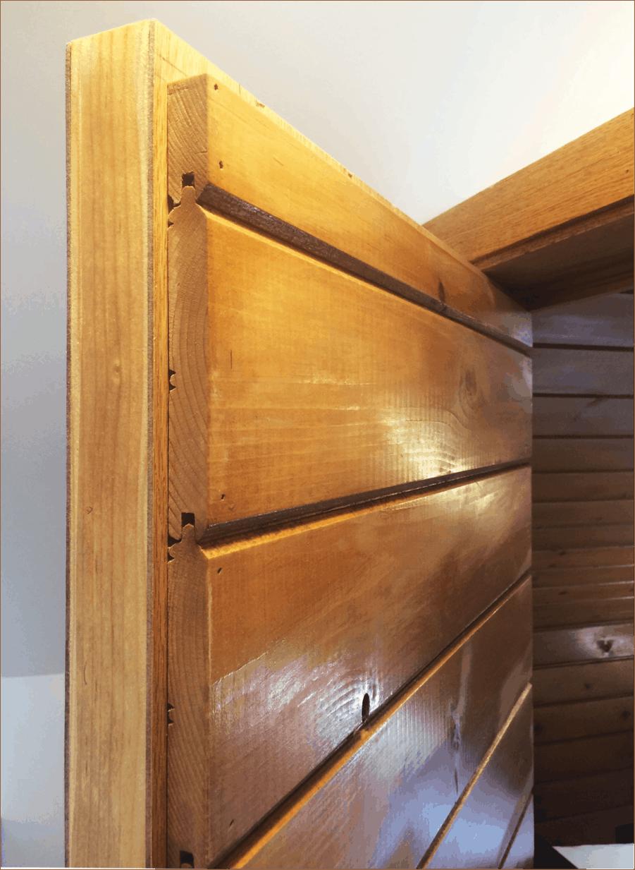 Hidden Hinge Solution For An Unusual Door Placement Colin Healy Design